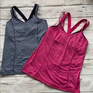 Pair of Lululemon tanks